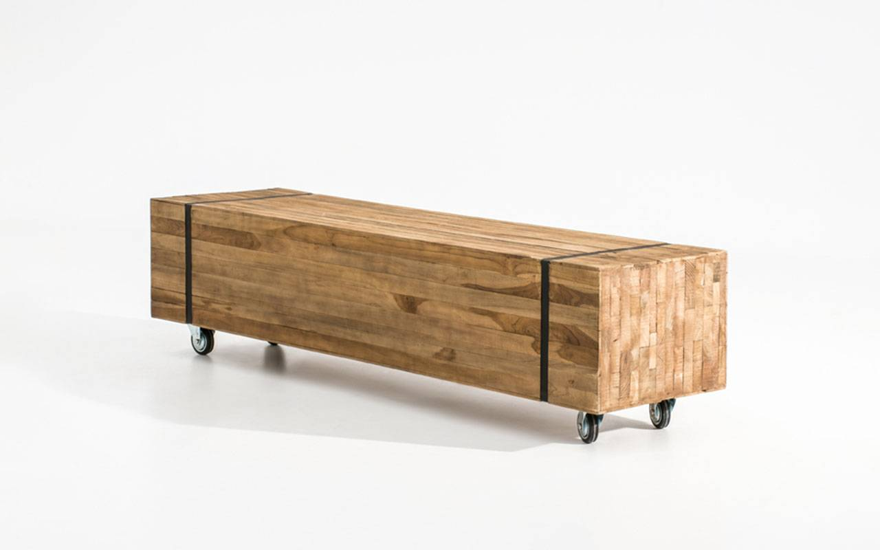 papazois.gr   HotelDeco   OZZY BENCH-BR      1272-880