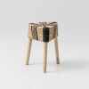 papazois.gr | HotelDeco | STRIPES STOOL-BE |  | 1272-1038