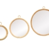 papazois.gr | HotelDeco | TOLEDO MIRROR SET OF 3-HK |  | 1272-1424