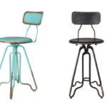 papazois.gr | HotelDeco | OVID COUNTER STOOL-DB |  | 1272-352