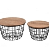 papazois.gr   HotelDeco   ADELE SET OF 2-BR      1272-480