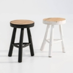 papazois.gr | HotelDeco | WOOD STOOL-TZ |  | 1272-744
