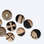 papazois.gr | HotelDeco | AFRICA WALL PLATES-BE |  | 1272-782