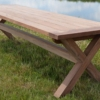 papazois.gr | HotelDeco | CROSS TABLE-BR |  | 1272-849